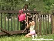 Curious teen gets cock