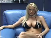 Super blonde with super boobs fucked hard