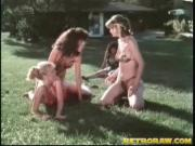 Outdoor bitch fight