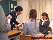 Junna Aoki and Erika Kirihara hot lovely