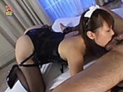 Asian awesome titfuck