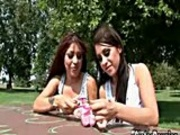 Identical Blowjob Sisters pt1