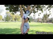 Extra Small Teen Cheerleader!