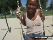 Cali Caramel Likes Licking Lolipops And Playing...