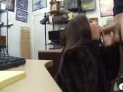 Small tits babe screwed by pawn keeper at the pawnshop