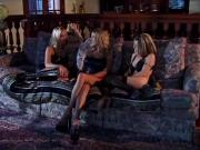 Briana Banks in a lesbian threesome