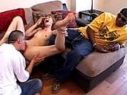 Munching Elli's rug while boyfriend watches