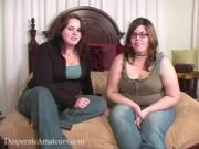 Thick Lesbians Touch One Another