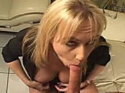 Horny skank enjoys getting her hot snatch smashed wide open by cock