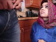Arab chick Ada receives warm creampie after getting banged