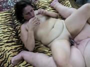 OldNanny mature granny masturbation using toy
