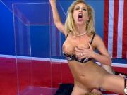 Huge juggs blonde MILF pussy rammed hard by nasty man