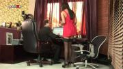 Naughty Brunette Is Anally Fucked At Office Room