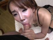 Big boobs ladyboy asshole ripped bareback on the bed