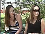 Sexy Pussy Slamming Lesbo Threesome