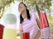 Britney sets up a lemonade stand to make some ...