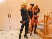 Three lesbos role play