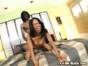 Needy Ebony Chick Madison Luv Has Her Booty Banged