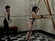 Fetish group all tied up and spanked