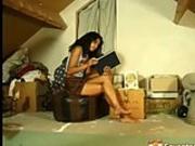 Masturbating in the attic