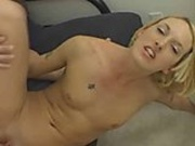 Fiona Cheeks cums on cock