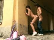public Sex - Russian Girl Lucy_720p