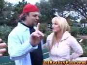 Slutty Brooke Bell Rides Strangers Cock