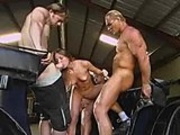Aurora Snow gets gang banged