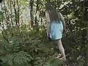 BBW Cassandra cums hard outdoors