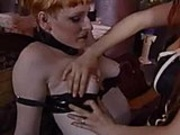 Oral sex and bondage with spanking