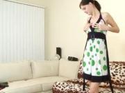 Tall Skinny Babe in Amazing Hardcore Scene