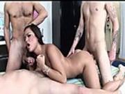 A few guys share hottie