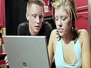 Dude watches his girlfriend fuck a hot lesbian