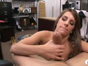 Amateur babe pawns gadget and pounded by pawn keeper