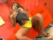 Exotic Latina Plays With Dildo