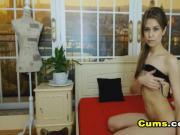 Seductive Cam Babe Masturbates Pussy until Orgasm