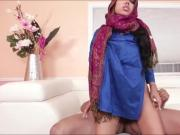 Big tits Arab babe Ada gives head and gets ripped hard