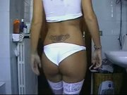 MoviesAnd - Ellein White Lingerie - Better than YouPorn and RedTube