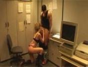 Melanie Coste anal at work