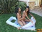 Teanna Kai & Loni - Teanna Kais Whipped Cream and Honey - Scene 6