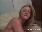 hot mama gets fucked on sofa by big cock long time