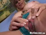 Busty MILF gets ready to ride