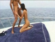 She Enjoys The Boat While Getting Fucked!