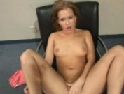 Sexy Sasha Knox fingers herself