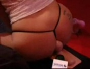 Jenna Jameson rides a sybian for the Howard Stern show