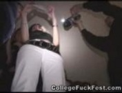 College girls gets fuck in a party