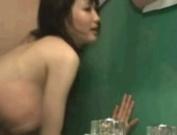 Japanese Fucked In Public Washroom!