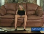Sexy Blond Hypnotized