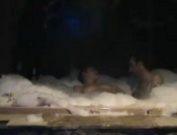 -It's extra hot tonight in the hot tub