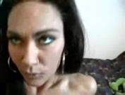Sexy latin milf undressing and fucking
